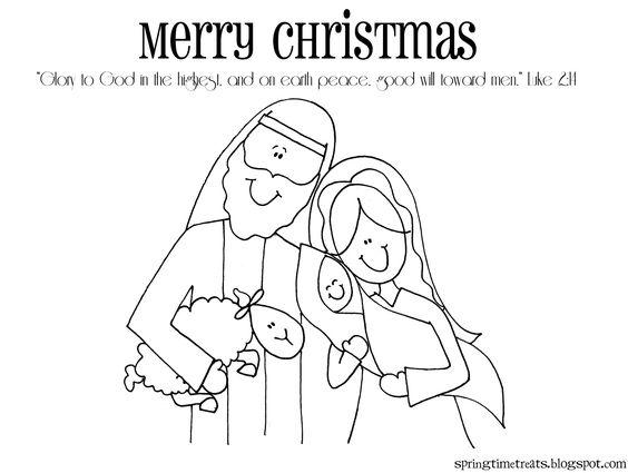 Natividad dibujando