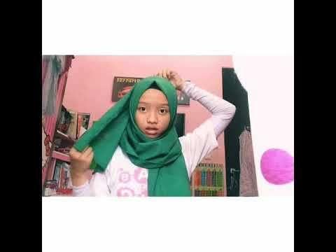 Tutorial Hijab Segi Empat Ala Sohwa Halilintar Hijab Empati Kata Kata Mutiara