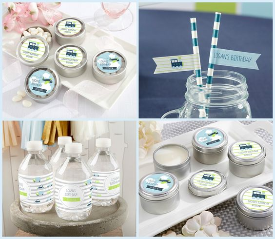 Precious Cargo Personalized Party Favors at HotRef.com