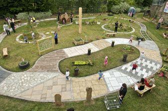 Sensory Garden (from Royal Horticultural Society) #sensorygardening