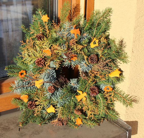 Christmas wreath 2013, Chýnice