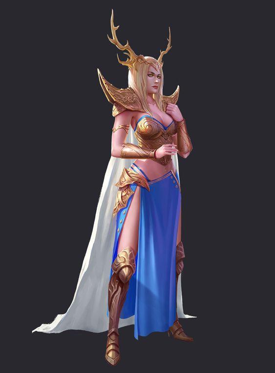 ArtStation - queen, Yang Bilong