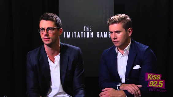 matthew goode & allen leech talk 'the imitation game'