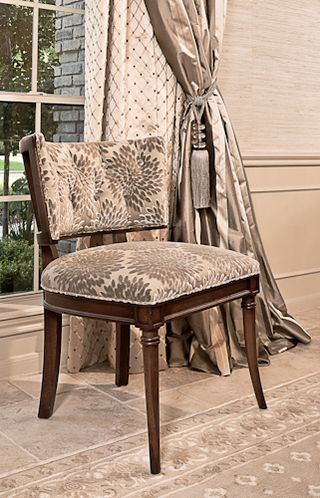 Like The Lines And Fabric Gabrielle Chair By Hickory