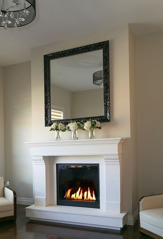 mantels beauty and fireplaces on pinterest