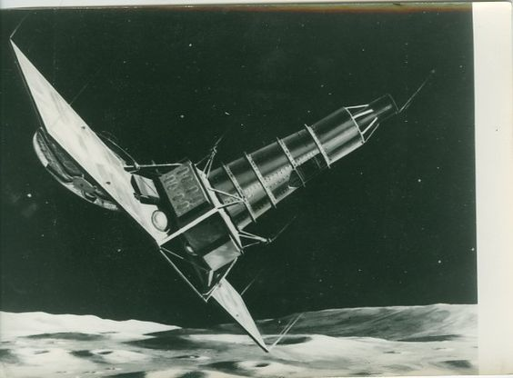 Ranger IX Lunar Crasher Spacecraft NASA old Photo 1965 ...