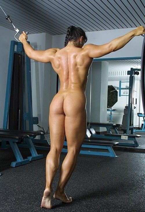 Nude Women In The Gym