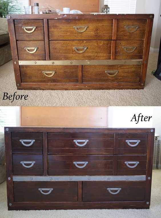 How To Refinish A Dresser Tips On Tutorial On Painting
