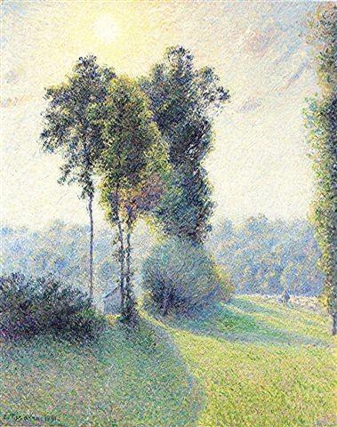 Camille Pissaro ~ Saint-Charles - Eragny 1891                                                                                                                                                                                 Plus