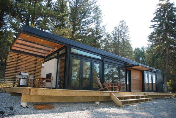 modern cabin   Prairie Perch: Karoleena: Modern Modular Homes