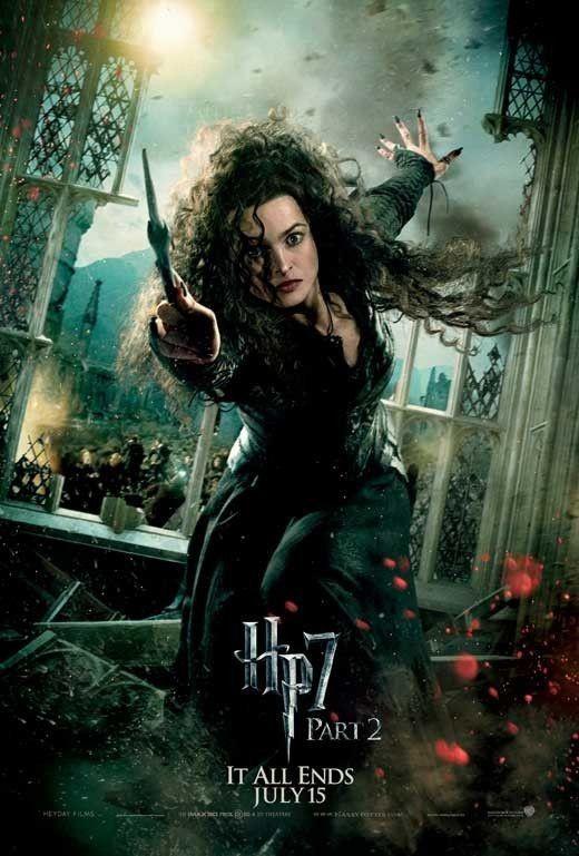 Hp Harrypotter Helenabohnamcarter Bellatrixlestrange Bellatrixblack Bellatrix Lestrange Deathly Hallows Part 2 Harry Potter Movies