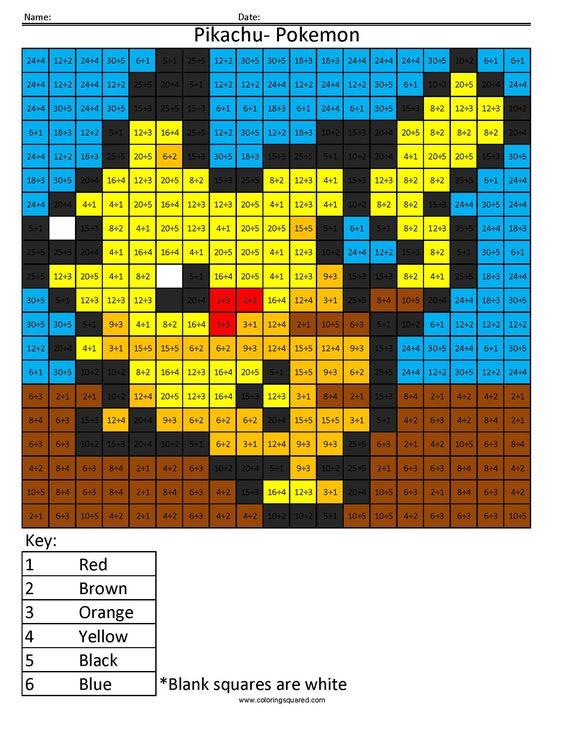 mario multiplication division color by number worksheets fourth grader pinterest coloring. Black Bedroom Furniture Sets. Home Design Ideas