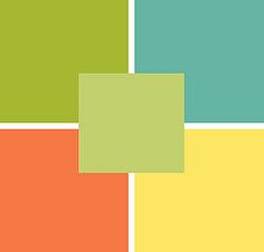 Colors that match well with pear green