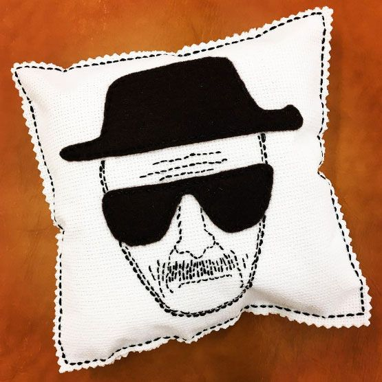 Heisenberg pillow inspired by Breaking Bad