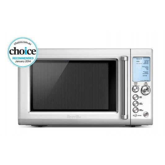 Breville Bmo735bss The Quick Touch Stainless Countertop Microwave Microwave Microwave Oven