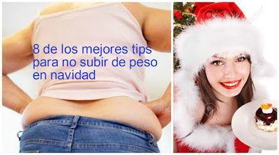 8 de los mejores tips para no engordar en navidad ~ Manoslindas.com