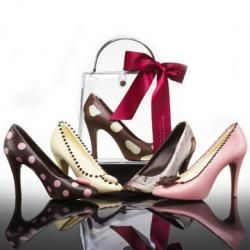 Chocolate Shoes,  I love giving these as gifts!