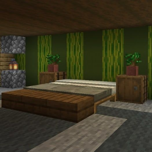 Couple Of Crafting On Instagram Bedroom Designs Follow Us For More And Don T Forget To Like Thi Minecraft Room Minecraft Bedroom Minecraft Wall Designs