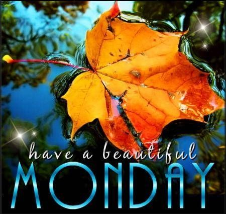 Have a beautiful Monday days autumn fall monday days of the week weekdays beautiful monday monday graphic