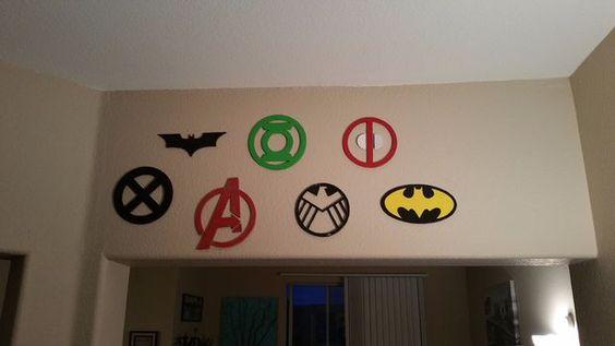 Superhero Wall Decor