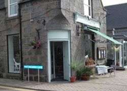 The Sew Room is in the village of Alford, in Aberdeenshire in SCOTLAND. As the name implies, the shop is based around sewing with paint and painted furniture to make the experience complete?