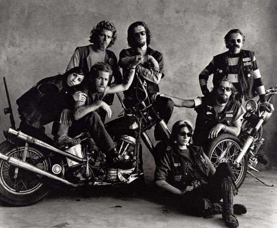Hells Angels Irving Penn  There's only one thing that really means anything to me and that's the Hell's Angels patch I wear. I can get me anything else– a new bike, a new old lady or money– but I can't get me another patch.