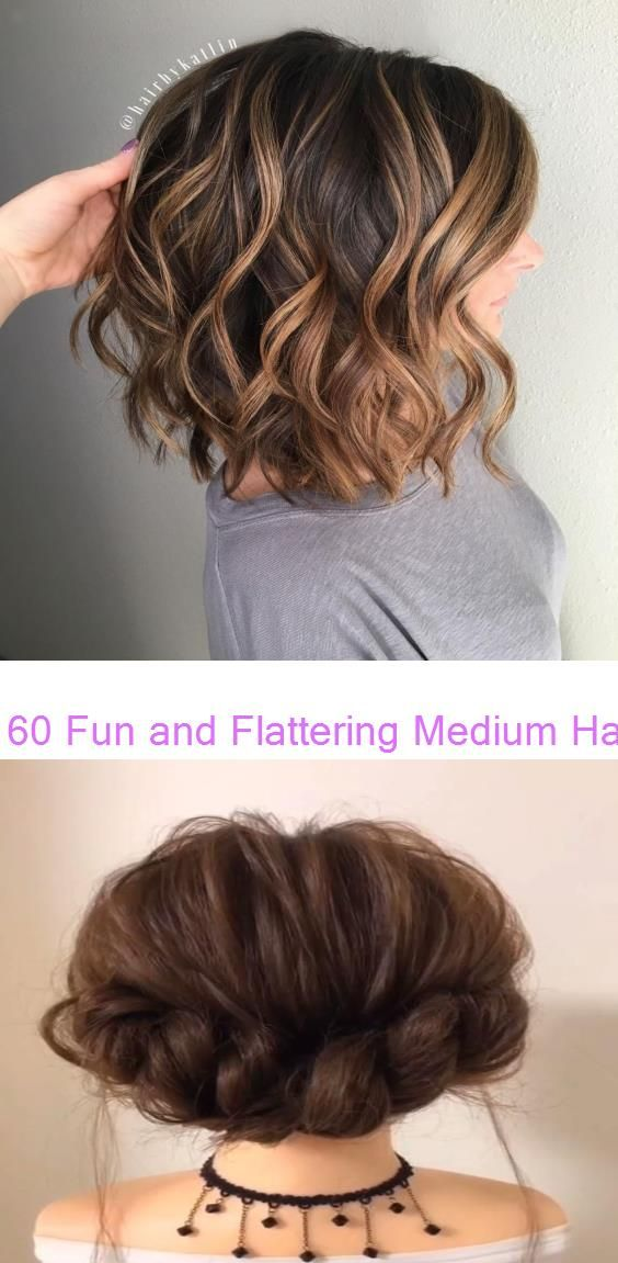 Easy Hairstyles For Medium Hair Quick Braided Video 70 Super Diy Hairstyle Ideas For Medium Length If Just Hea In 2020 Hair Styles Diy Hairstyles Medium Hair Styles