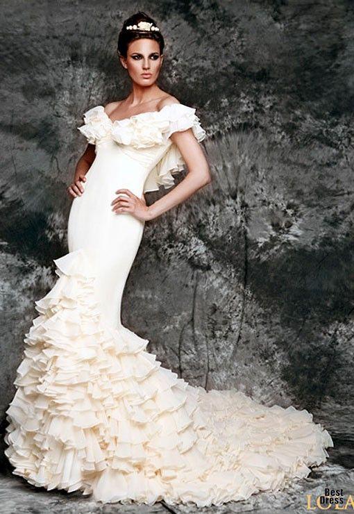 flamenco wedding  dress | Vicky Martin Berrocal 2012 - Sueño Flamenco » BestDress - cайт о ...