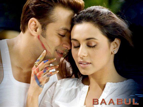 Baabul: Salman Khan and Rani Mukerji