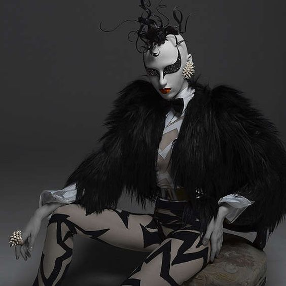Porcelain Doll Makeup: Cyber Mannequin Photography by Patrizio di Renzo