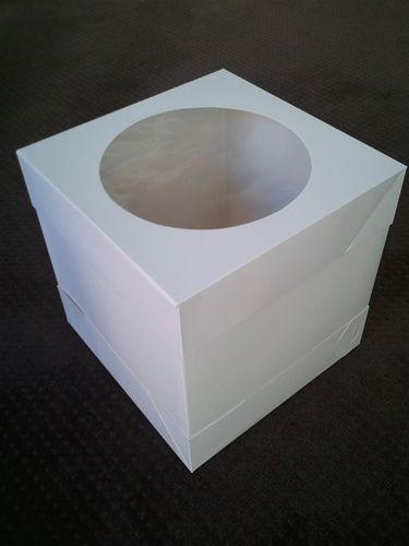 Tall Cake Box For Stacked Cake | Cake Container | Pinterest ...