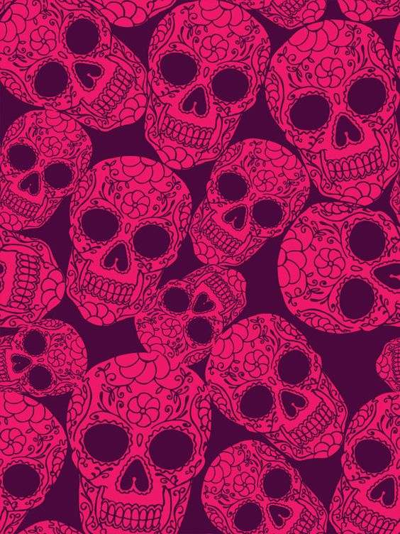 skull wallpaper 133 colorful - photo #43