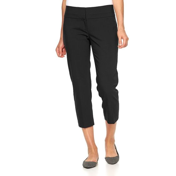 Women's Apt. 9® Torie Modern Fit Capri Dress Pants, Size ...