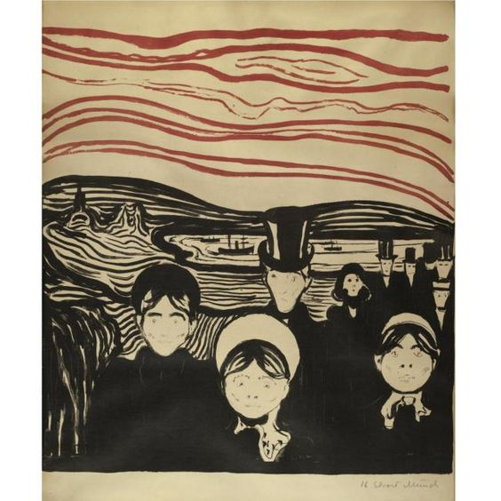 By Edvard Munch