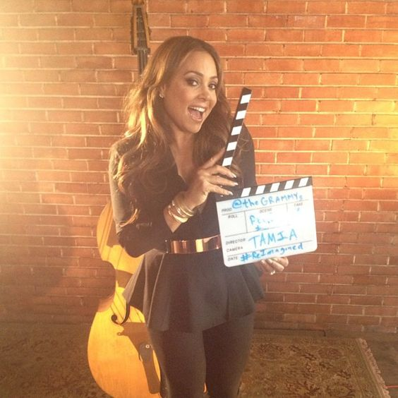 "GRAMMY nominated R singer, Tamia, in New Orleans on set of #ReImagined for her cover of Patsy Cline's ""Crazy"""
