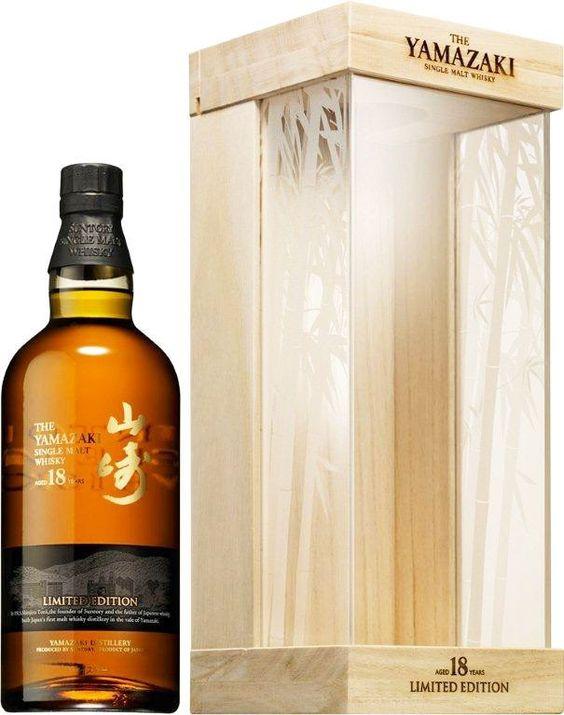 Yamazaki 18 Limited Edition Japanese Whisky – Rare Malts & Co.