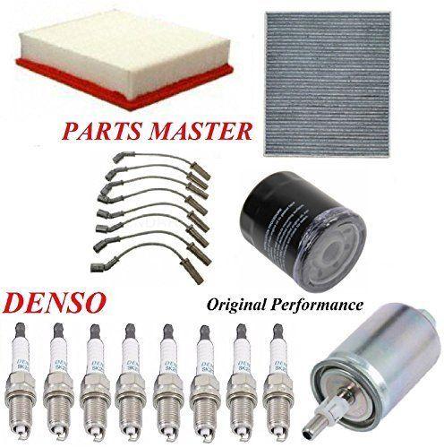 8usauto Tune Up Kit Air Cabin Oil Fuel Filters Wire Spark Plug Best Price Oempartscar Com Spark Plug Plugs Filters
