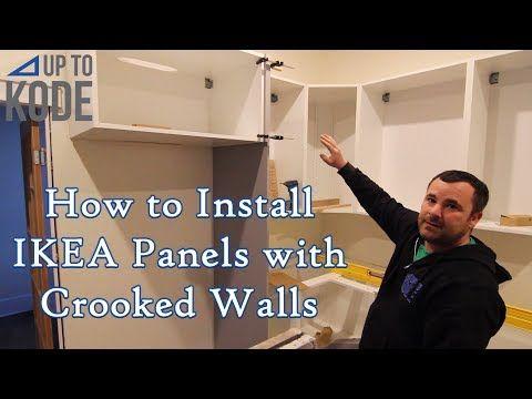 Assembling Installing An Ikea Kitchen Part 3 Ikea Kitchen Ikea Kitchen Cabinets Kitchen Inspirations