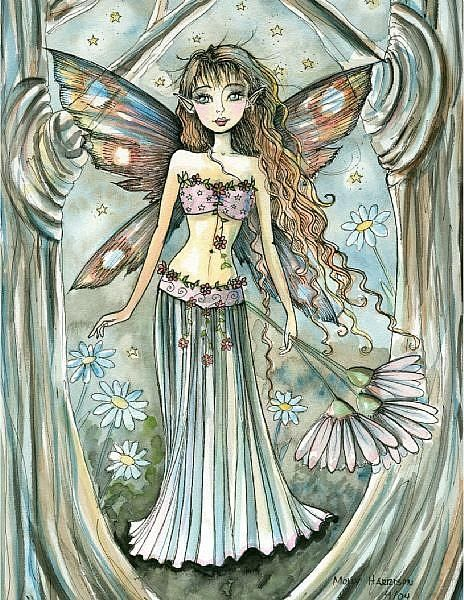Fairy Art: Calista by Artist Molly Harrison