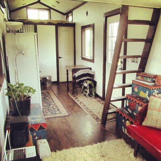 A 300 Square Feet Tiny House On Wheels In Ridgefield