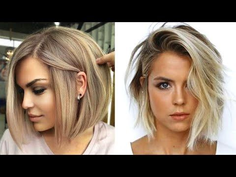 Short Haircut Transformation 2020 Top 12 Bob Hairstyle Ideas For You Pretty Hair Youtube In 2020 Pretty Hairstyles Hair Styles Bob Hairstyles