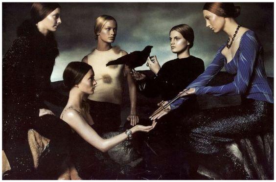 Versace Add by Steven Meisel