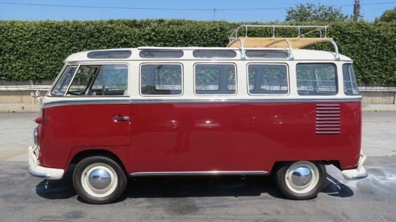Ein seltener 1961 VW Samba Bus aus dem sonnigen Kalifornien! Carshipping by Interfracht. Wir sind ganz verliebt <3