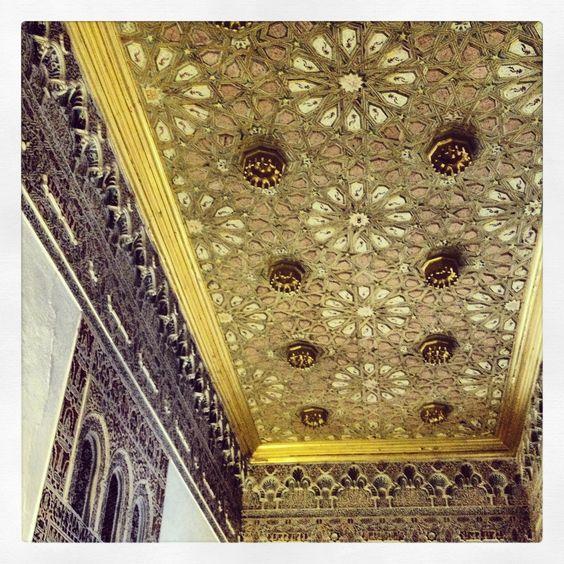 Los Reales Alcázares de Sevilla...  Y sigo recorriendo sus habitaciones..