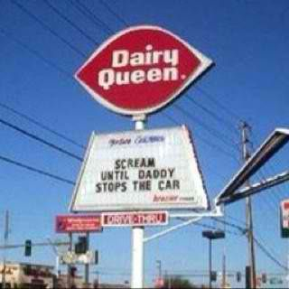 DQ- the Texas stop sign!