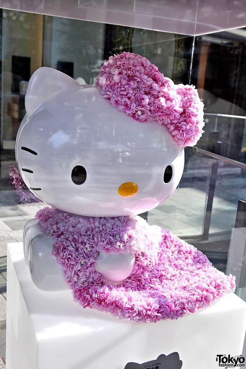 Hello Kitty Figure by Ai Tominaga | #hello kitty