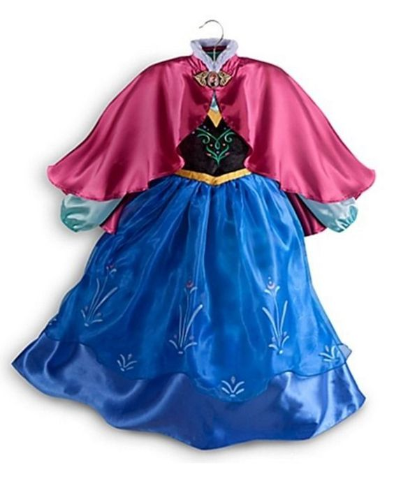 This would be so cute on my little niece! Disney Store Frozen Princess Anna Costume Size Small 5/6 – 5T | CostumesPlace