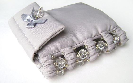 Wide bracelet with a secret. Bracelet purse. от HelgaRasha на Etsy