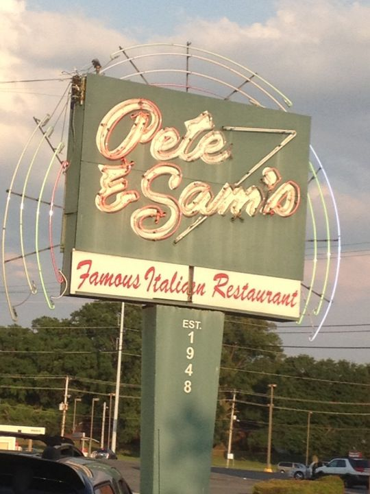 Pete and Sam's in Memphis, TN