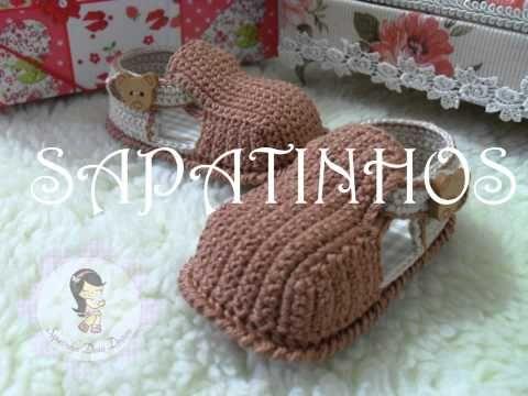 Sapatinhos de Crochê para Bebês By Vanesca Nascimento